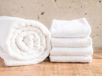 toallas blancas