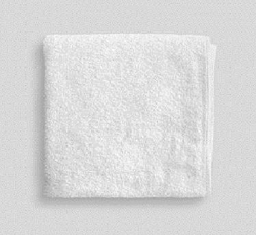 Toalla lavabo blanca