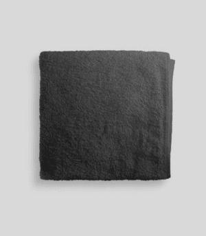 toalla lavabo negra